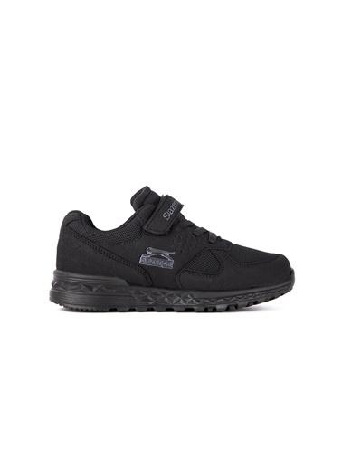 Slazenger Fresh Erkek Çocuk Sneaker Ayakkabı Siyah
